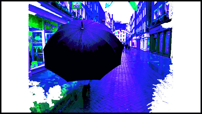 Vast Umbrellas and: 'The Moisture'
